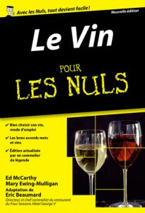 Eric Beaumard Le vin pour les nuls