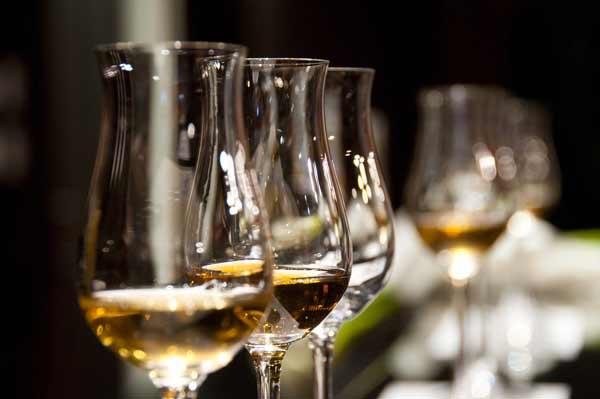 Trois verres de vins