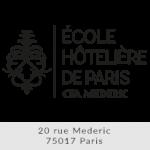 Logo Ecole Hôtelière de Paris CFA Mederic