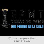 Logo EPMT Ecole de Paris des Métiers de la Table