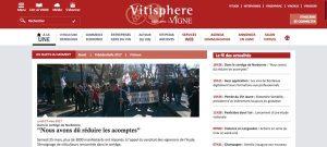 Home Page du site Vitisphère