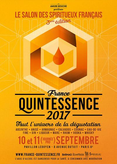 Affiche 3e Edition France Quintessence 2017