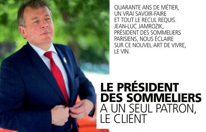 Teaser Article sur Jean-Luc Jamrozik dans Paris Match du 07.09.2017