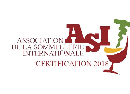 Certification ASI 2018