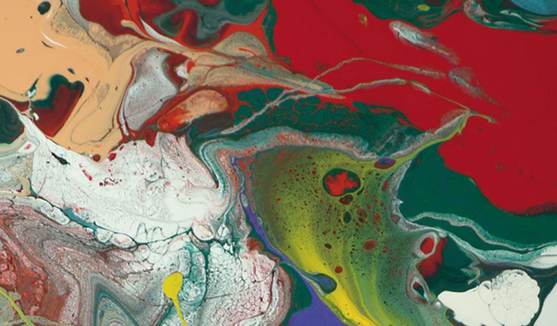 Peinture étiquette Mouton Rothschild 2015