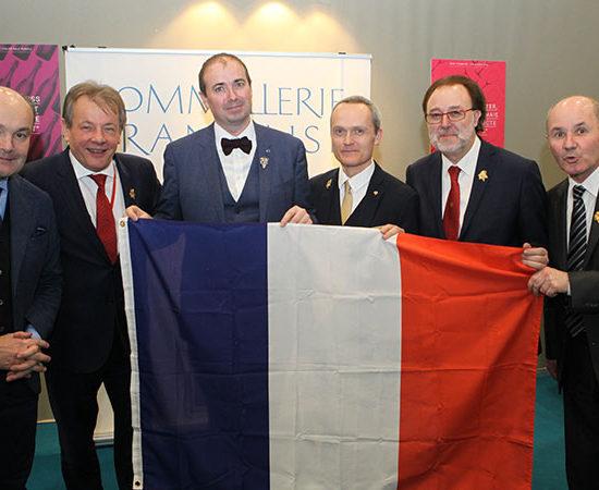 L'Equipe de France du concours de Meilleur Sommelier du Monde 2019