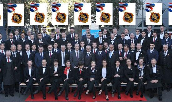 Sommeliers sélectionnés pour le MOF 2019