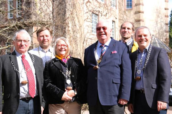 De G à D : Jean-Paul Goulby, Ignace Kuehn, Martine Becker, Pascal Schultz, Christian Beyer et Eric Fargeas ©SandrineKauffer