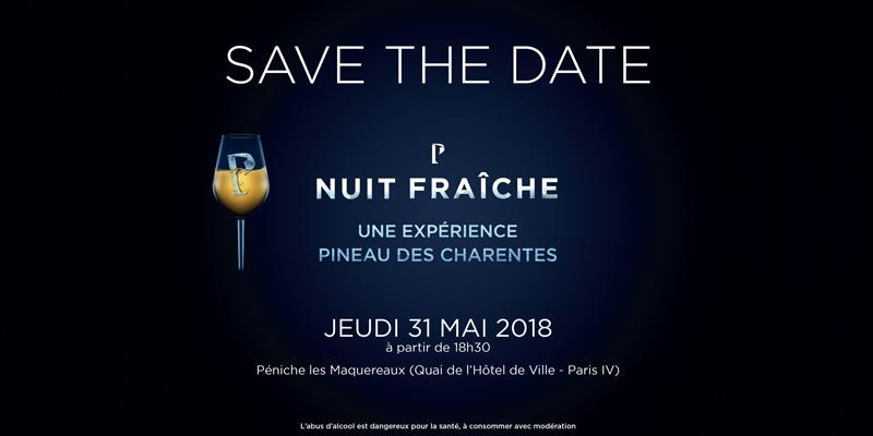 Logo Nuit Fraiche Pineau des Charentes 2018