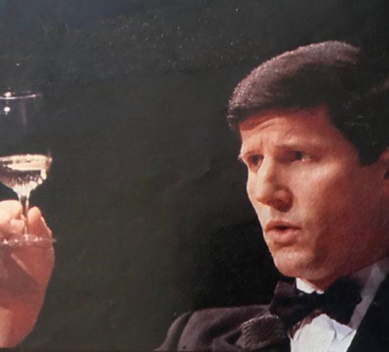 Serge Dubs, pendant le concours du Meilleur Sommelier du Monde en 1989, (photo archive)