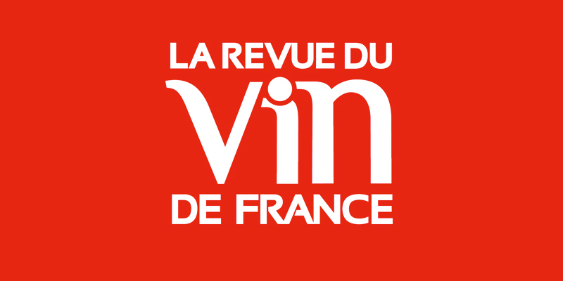 Logo de la Revue du Vin de France, RVF