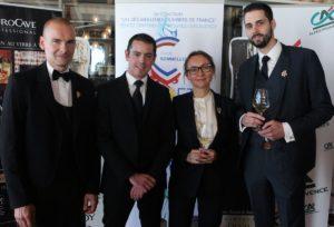Lauréats d'un des Meilleurs Ouvriers de France en Sommellerie 2018