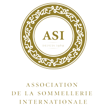 Logo de l'Association de la Sommellerie Internationale - ASI