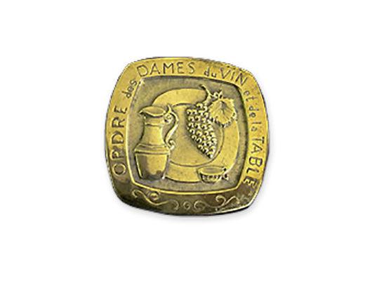 Médaille de l'Ordre des dames du vin et de la table