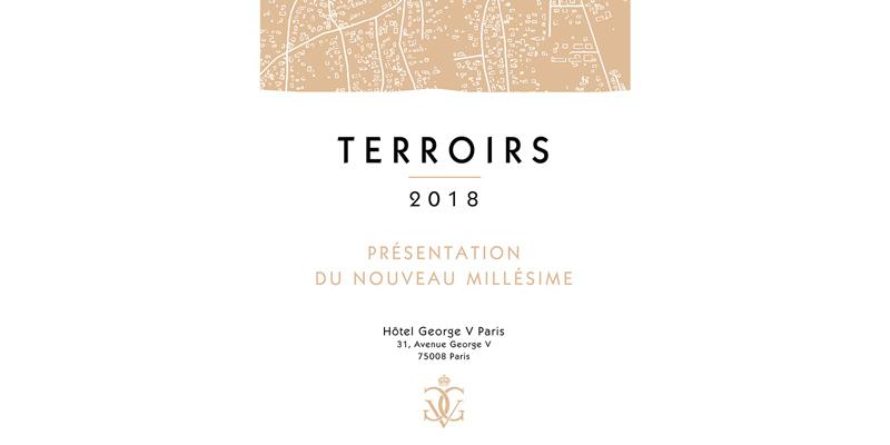 Flyer Dégustation Terroirs, vins de Bordeaux 2019