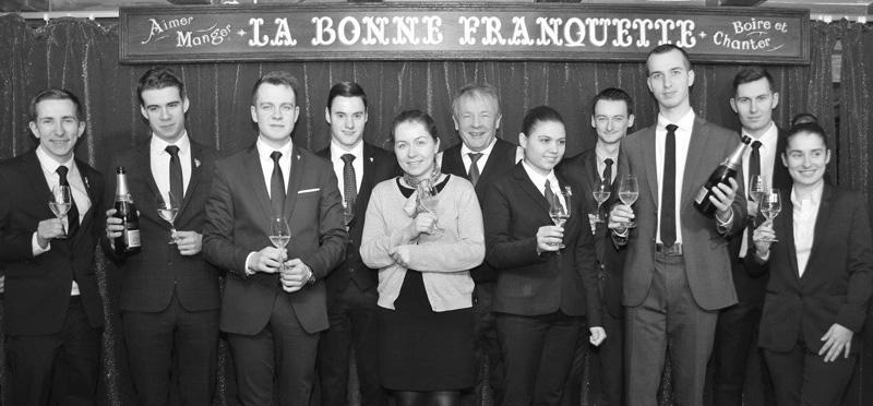 Sélection parisienne du concours du Meilleur Jeune Sommelier de France 2019