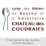 Logo Lycée Professionnel du Château des Coudraies