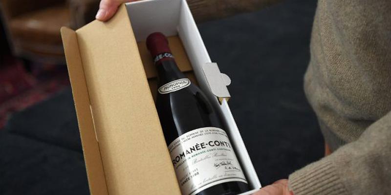 Trois bouteilles de Romanée-Conti (12.000 euros l'une) ont été vendu à Clermont-Ferrand