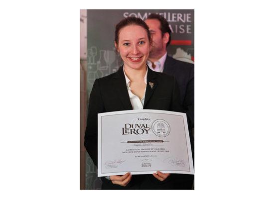 Charlotte Guyot, Meilleure Jeune Sommelière de France 2019