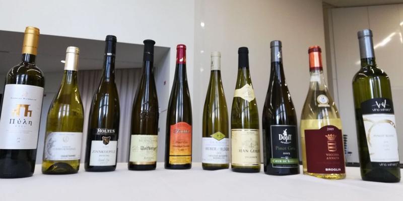 Vins primés au concours mondial des Vins Blancs
