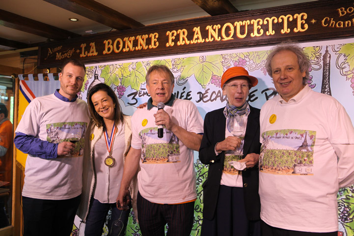 3ème Paulée de Paris de l'Association des Sommeliers de Paris