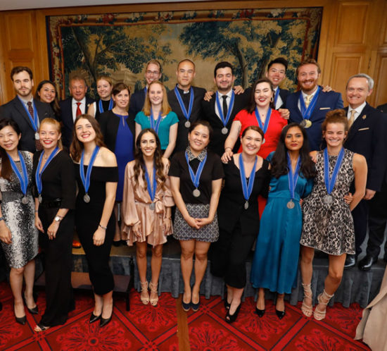 Les lauréats du diplôme de Sommelier de l'Ecole du Cordon Bleu 2019