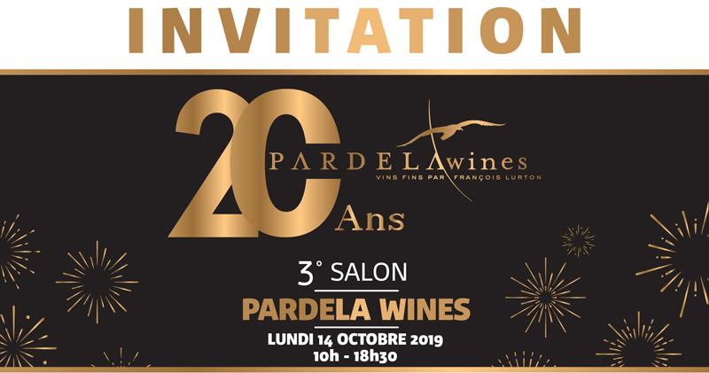 Invitation du 3eme edition Salon Pardela Wines