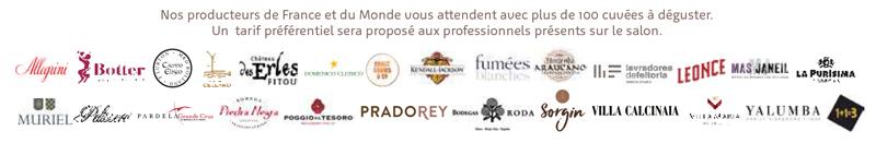 Partenaires du 3eme edition Salon Pardela Wines