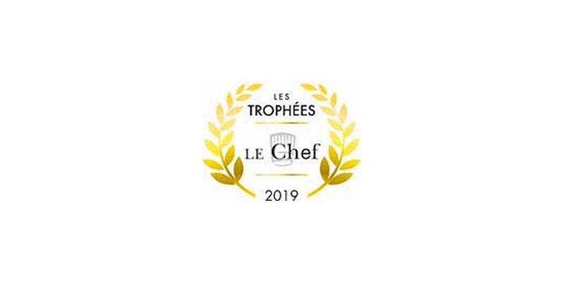 Logo Trophées Le Chef 2019