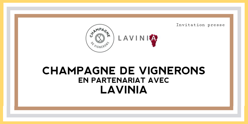 Champagne de Vignerons vous convie à la présentation de son Carnet d'Empreintes le 27/11 chez Lavinia
