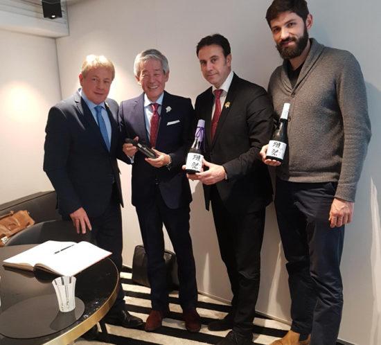 irochi SAKURAI Président de DASSAI est devenu membre d'Honneur de l'Association des Sommeliers de Paris Ile de France
