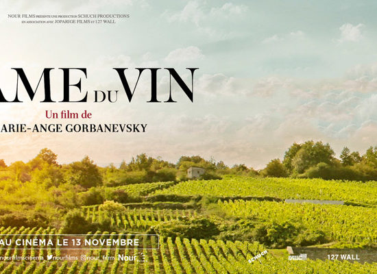 Affiche du documentaire L'âme du vin