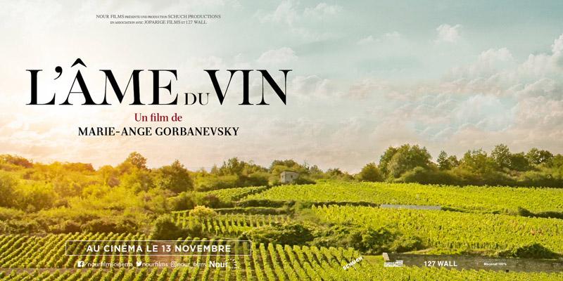 Affiche du documentaire L'âme du vin