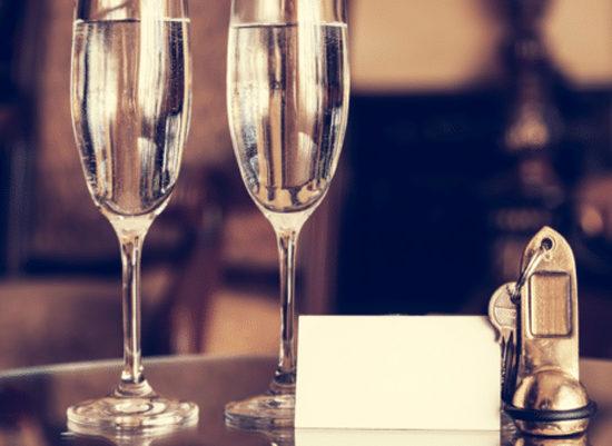 Verres de Champagne Roderer
