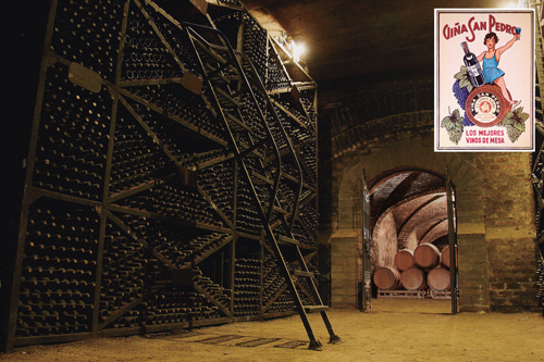 Chiles_Heritage_Wineries_Vina_San_Pedro_Bodega_Cabo_de_Hornos_and_poster