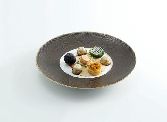 La cuisine de Charles Coulombeau, Lauréat du Prix Taittinger