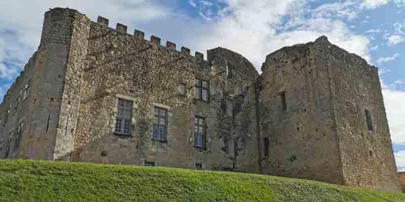 Le château de Fargues, propriété d'Alexandre de Lur Saluces © JPS
