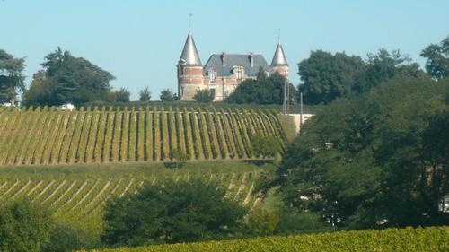Le château Rayne-Vigneau © JPS