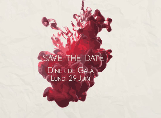 Save the date Soirée de Gala 2020