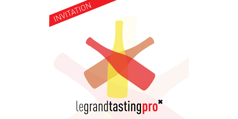 Flyer de l'invitation au Grand Tasting Pro 2020