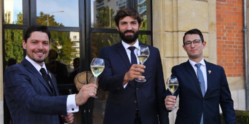 Florent Martin, Pierre Vila-Palleja et Aymeric Pollenne, finalistes du concours du Meilleur Sommelier de France 2020