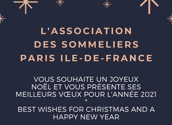 Voeux de l'Association des Sommeliers de Paris Ile-de-France