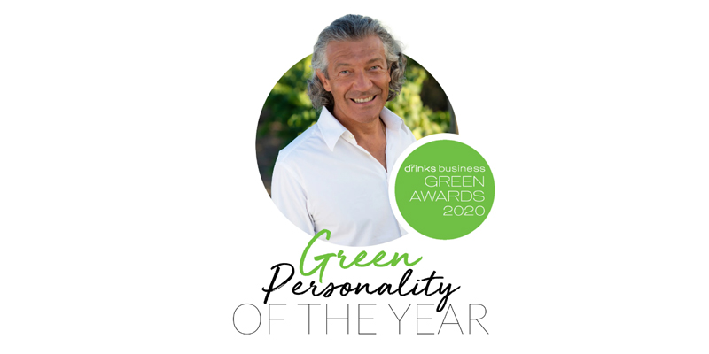 Gérard Bertrand désigné Green Personality of the Year par The Drinks Business
