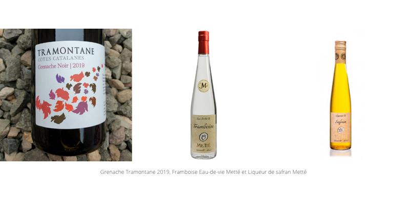 Alcools et vins des épreuves du concours de Meilleur Jeune Sommelier de France