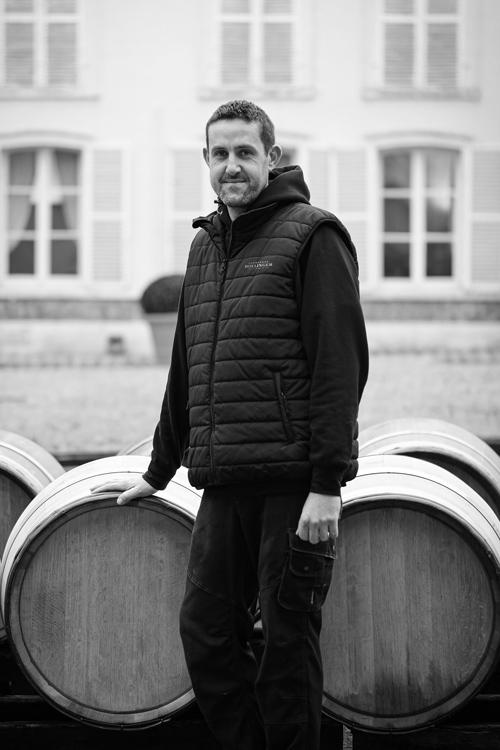 Gaël Chaunut Nouveau tonnelier de Champagne Bollinger